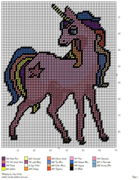 unicorn needlepoint pattern 17 best images about unicorn in plastic canvas cross