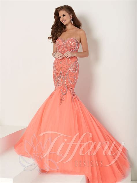 design prom dress tiffany designs 16162 prom dress prom gown 16162