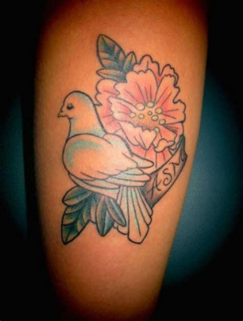 le tatouage colombe