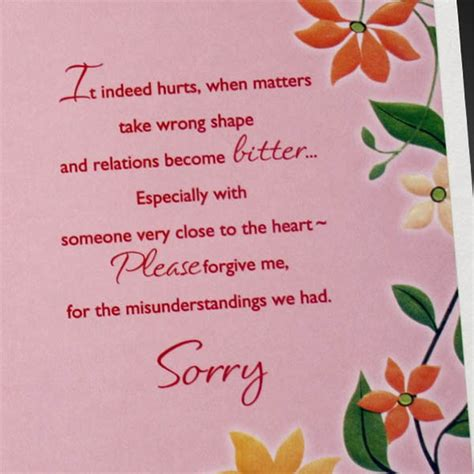 sorry card template 20 beautiful printable greeting card templates sle