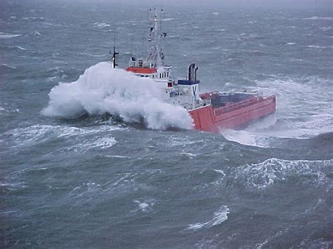 a big boat in spanish oceanography rogue waves