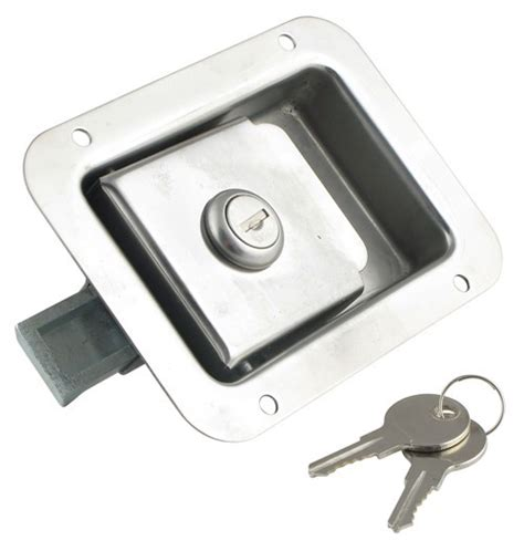 Adding Rv Style Door Latch To Enclosed Trailer - door latch enclosed trailer door latch