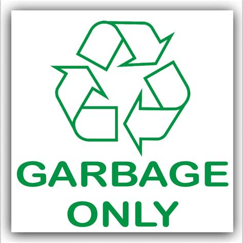 Garbage Stickers