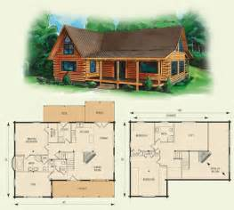 Cabin Floor Plans With Loft Log Cabin Home Floor Plan Dogwood Ii