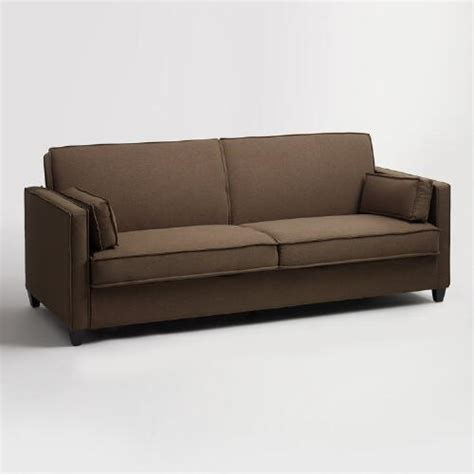 World Market Sleeper Sofa Chocolate Brown Nolee Folding Sofa Bed World Market