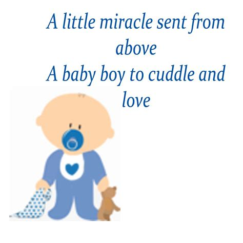 Baby Boy Baby Shower Poems by Baby Boy Poems For Baby Shower