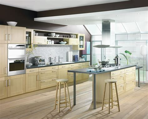 shaker kitchen ideas shaker birch kitchen design stylehomes net