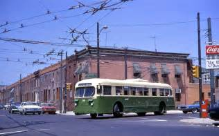 Size Of Garage file philadelphia brill trolley bus 228 turning at 23rd