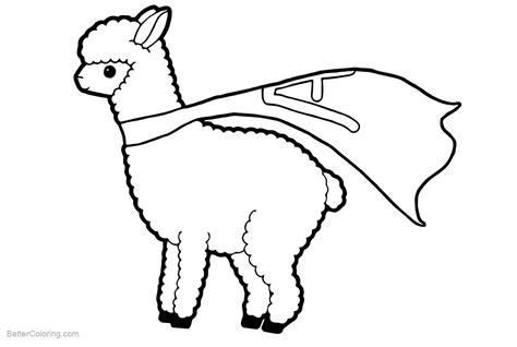 llama coloring pages llama coloring pages llama free printable
