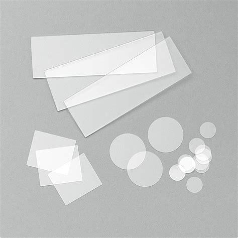 quartz slides and coverslips agar scientific
