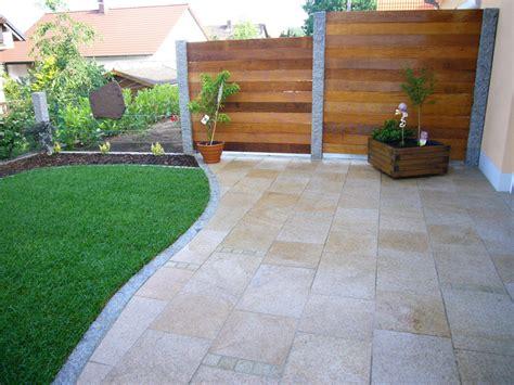 kerzenständer groß garten granit design zaun