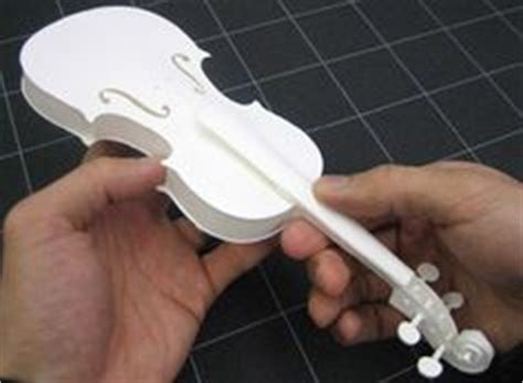 origami violin tutorial violin card templates and cards on pinterest