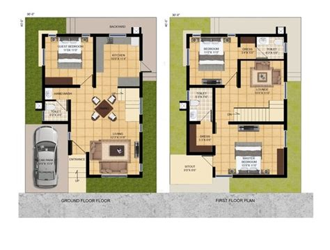 Online Floor Plan Design Free by Is A 30x40 Square Feet Site Small For Constructing A House Quora