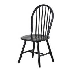 Black Dining Chairs Ikea Lidingby Chair Ikea