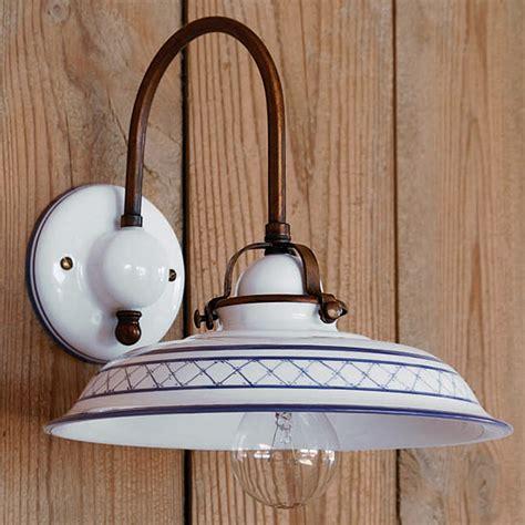 wandleuchte landhaus rustikale landhaus wandleuchte aus keramik provenza casa