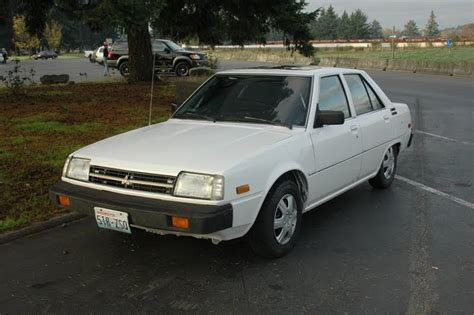 how to learn about cars 1986 mitsubishi tredia parking system old parked cars 1983 mitsubishi tredia