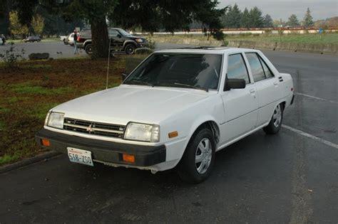 old car repair manuals 1986 mitsubishi tredia on board diagnostic system old parked cars 1983 mitsubishi tredia