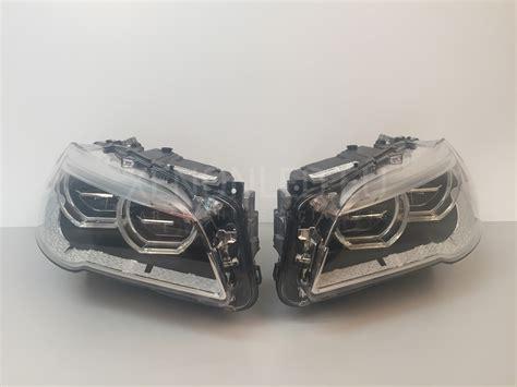 bmw headlights bmw 5 m5 series f10 f11 facelift lci 2013 full led headlights