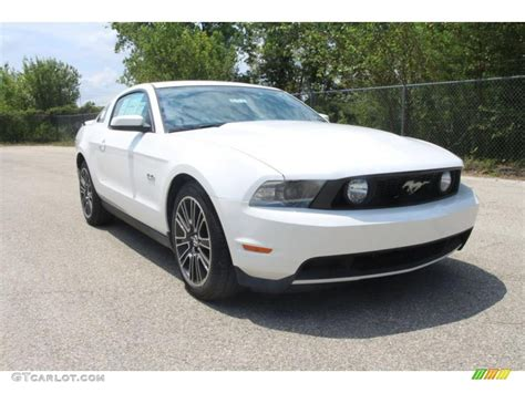 2011 mustang white 2011 performance white ford mustang gt premium coupe