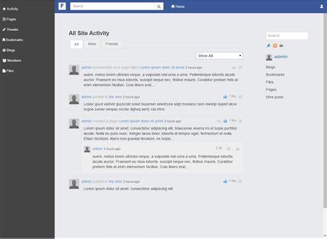 elgg facebook theme facebook theme elgg org