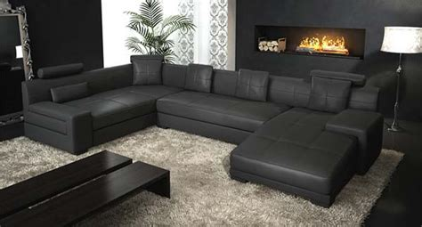 ebony couch concerns about a black leather couch elliott spour house