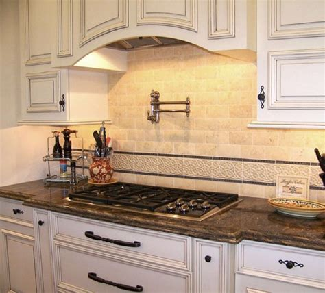 Kitchen Paneling Backsplash by How High Above The Stove Should The Pot Filler Be Also I