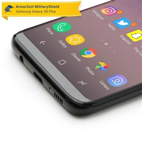 Healing Shield Galaxy S8 Screen Protector Curvedfit Prime samsung galaxy s8 plus matte screen protector armorsuit