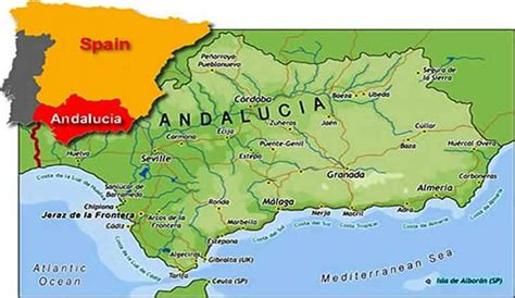 andalusia regional map 578 islamic andalusia initiated a new civilization islamic voice of turkey