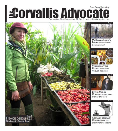 new issue september 20th 2012 the corvallis advocate new issue december 20th 2012 the corvallis advocate