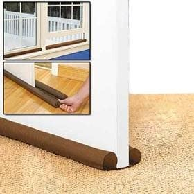 Patio Door Draught Excluder 2 Pack Sided Draft Guard Draught Excluder For Doors Windows