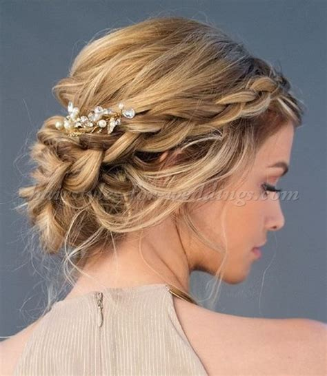 Wedding Hairstyles Braids Low Bun by Braided Wedding Hairstyles Braided Low Bun Wedding