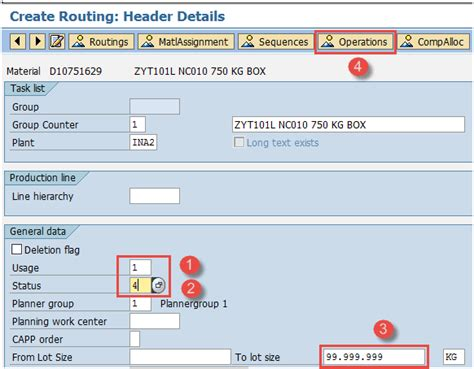sap routing tutorial how to create change display routing in sap pp sapspot
