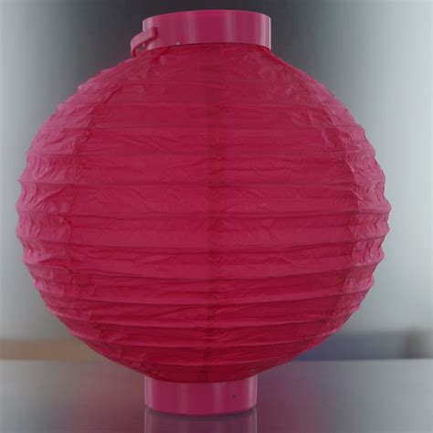 Lighted Paper Lanterns by Fuchsia Lighted Battery Led Powered Decorative