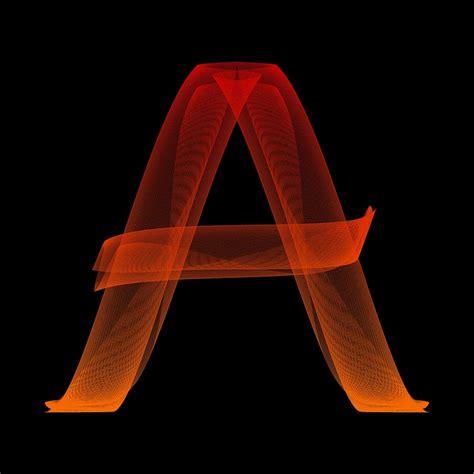 letter a images free illustration letter a particles alphabet abc