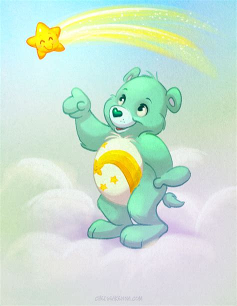 painting care bears wish by autogatos on deviantart