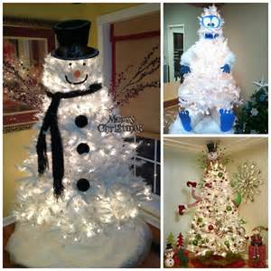 Diy Home Design Projects clever white christmas tree decorating ideas crafty morning
