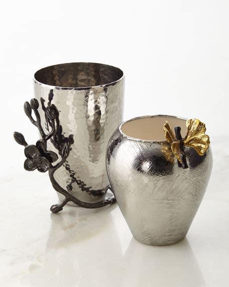 Michael Aram Black Orchid Vase by Michael Aram Butterfly Ginkgo Black Orchid Bud Vases