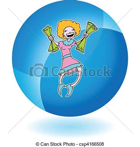 Winning Money Clipart - vector of winning money csp4166508 search clip art illustration drawings and