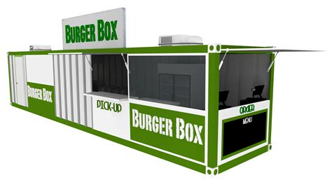 Harga Vans Burger cafe kontainer mitra kontainer