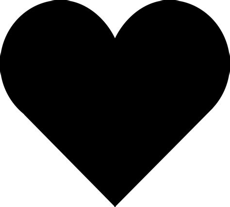 loving heart shape svg png icon