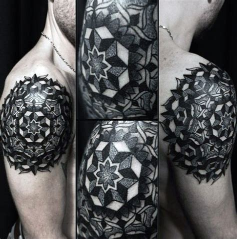 pattern of tattoo top 100 best sacred geometry tattoo designs for men