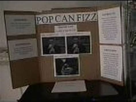 !!!how to do a science fair project board!!! youtube