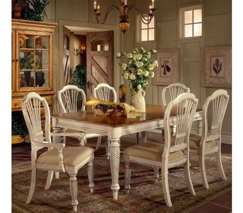 cottage dining room sets country dining set country cottage style includes
