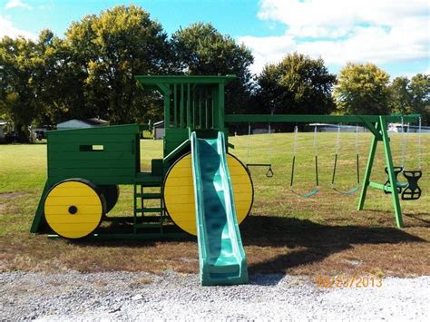 awesome swing sets awesome tractor swing set t rav pinterest