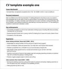 sample blank cv 6 documents in pdf word