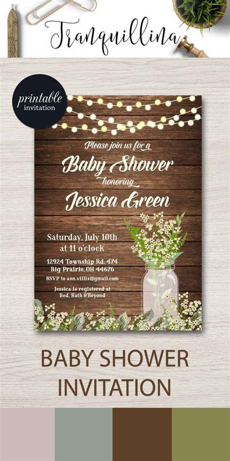 baby shower invitations western theme baby shower invitations