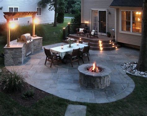 arlington patio with grill pit patio dc metro