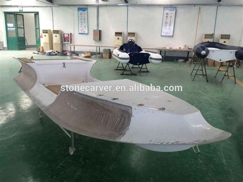 boat hull layers double layer frp hull rigid inflatable boat with natural