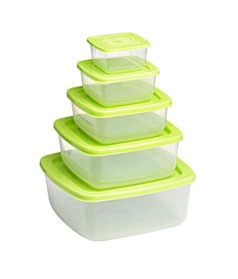 green food storage containers green food storage container set 5 pcs buy