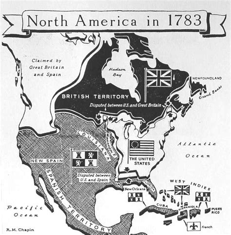 america map in 1783 maps usa map 1783
